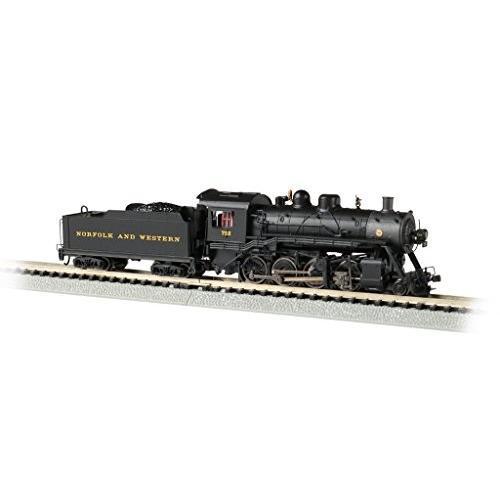 Baldwin 2-8-0 DCC Sound Value Econami Equipped Locomotive - Norfolk & Western #722 - N Scale