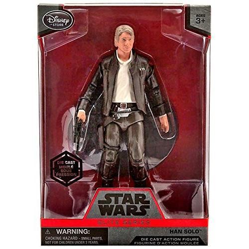 Star Wars Han Solo Elite Series Die Cast Action Figure - 6 1/2 Inch - Star Wars