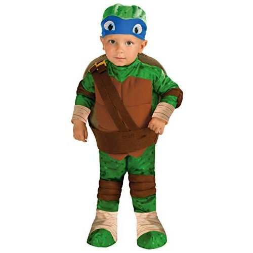 Rubies Teenage Mutant Ninja Turtles Leonardo Toddler Costume 3T/4T
