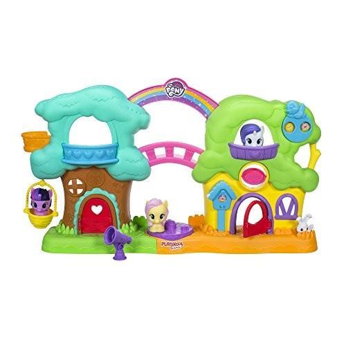 Playskool Friends My Little Pony Spin 'n Sounds Treehouse Cottage