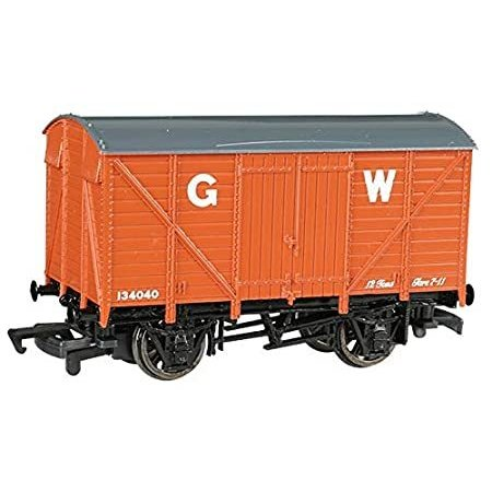 Thomas and Friends - Ventilated Van - Great Western - HO Scale