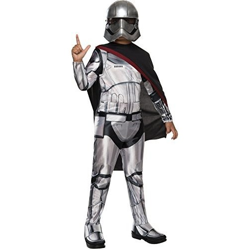 Childs Star Wars Episode VII Force Awakens Captain Phasma Costume Large 12-14