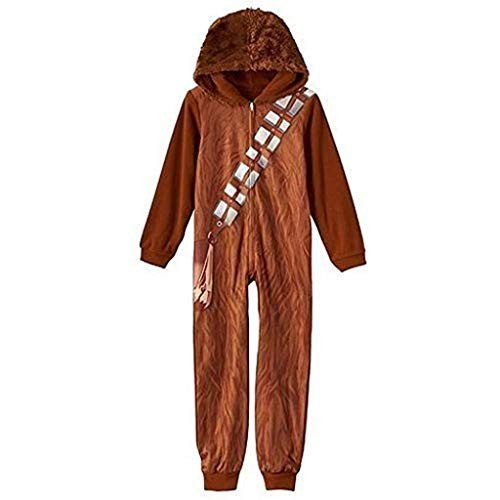Boy's Star Wars Chewbacca Hooded Sleeper Pajama (X-Small 4/5)
