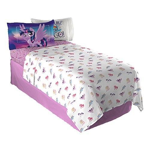 Hasbro My My Little Pony Twinkle Adventure Sheet Set, Twin