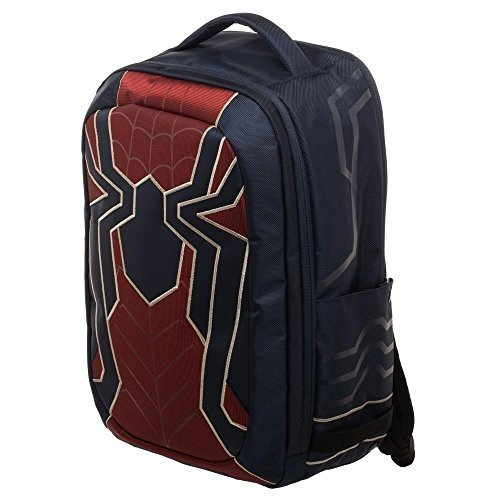 Spiderman Bag, New Avengers Costume Style 赤 with 青, Back to School Backpack