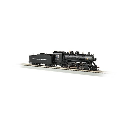 Bachmann  Baldwin 2-8-0 DCC Sound Value Equipped Locomotive - NYC #1137 - HO Scale, Prototypical black