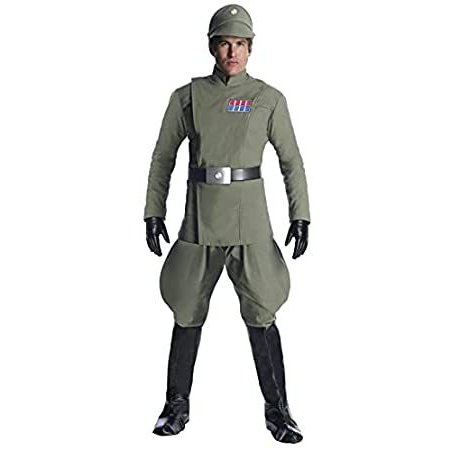 Charades Star Wars Imperial Officer Men's Costume, As Shown, X-Small