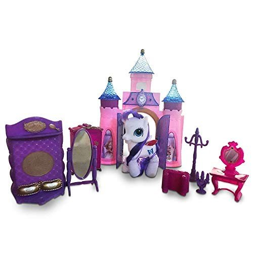 LilPals' Unicorn Doll with Castle - Makes for A Terrific Birthday Gift