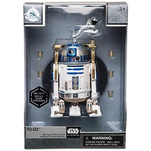 Star Wars R2-D2 Die Cast Action Figure - Star Wars Elite Series No Color