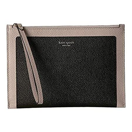 Kate Spade New York Women's Margaux Small Wristlet 黒/Warm Taupe One Size