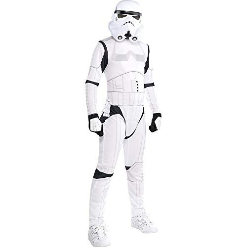 Costumes USA Star Wars Stormtrooper Costume for Boys, Size Small, Includes a 黒 and 白い Jumpsuit and a Mask
