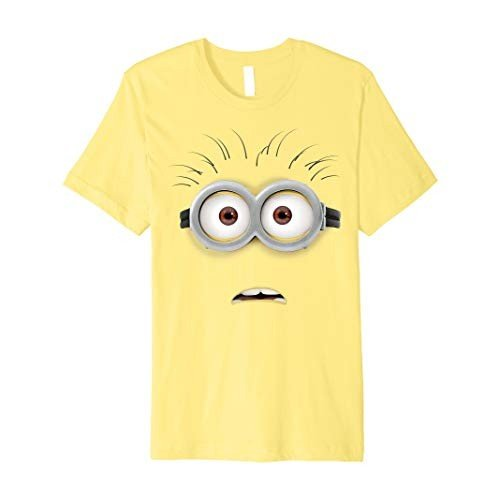 Despicable Me Minions Stunned Face Costume Premium T-Shirt