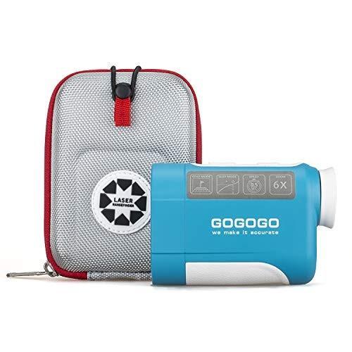 【格安saleスタート】 Gogogo Sport 650/900Yard Golf Rangefinder, 6X Magnification Laser Range Finder, with Pinsensor - Flag-Lock - Support Vibration - Slope Calculation- Hi, メンズバッグ専門店 紳士の持ち物 b7a4aa41