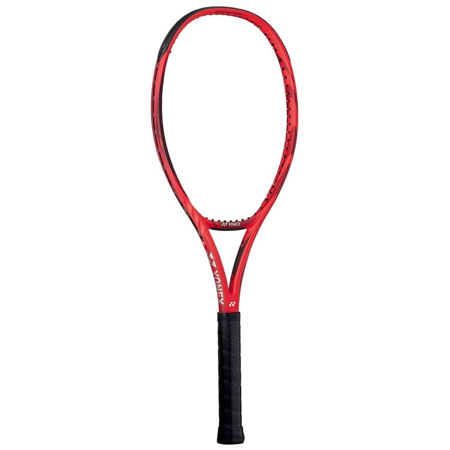 2019年新作 YONEX(ヨネックス) 硬式テニスラケット VCORE 100 18VC100 LG2 フレイムレッド(596), comme billet<コムビエ> be3291ba
