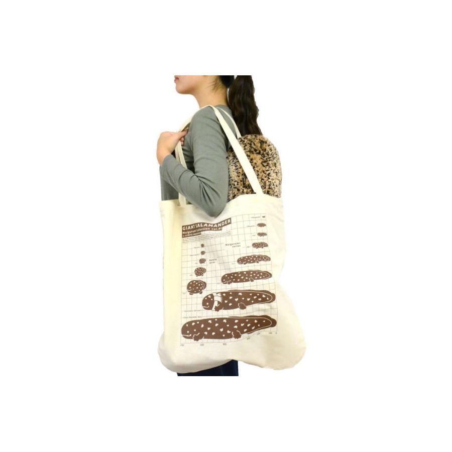 オオサンショウウオぬいぐるみ〈LL〉トートバッグ付き|kyoto-aquarium|08