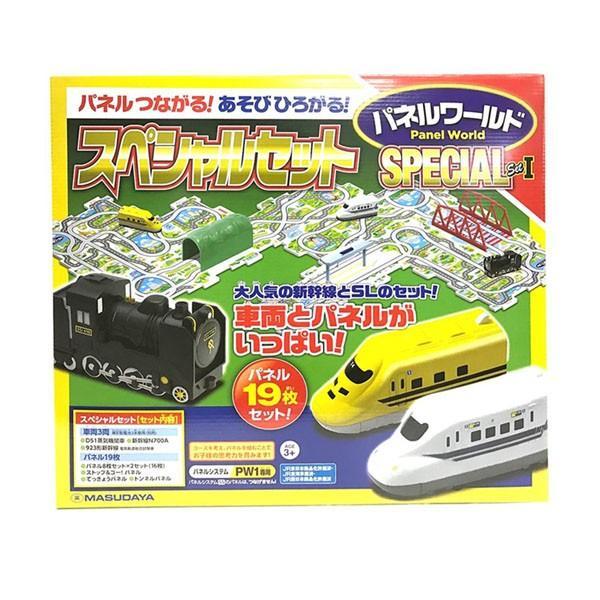 【送料無料】パネルワールド スペシャルセット 1(車両3両、パネル19枚)
