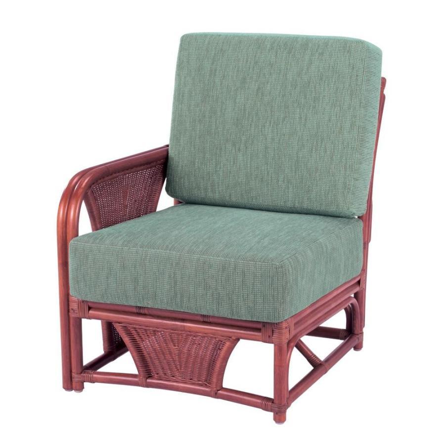 【送料無料】今枝ラタン 籐 アームチェア 肘付き椅子(ワンアームタイプ) スコルピス A-600-1D