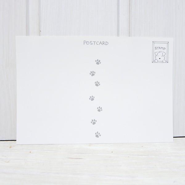 ポストカード〈オリジナルデザイン〉 ミニシュナ兄弟の大冒険〈ミニチュアシュナウザー〉|kyoto-bunguya|04