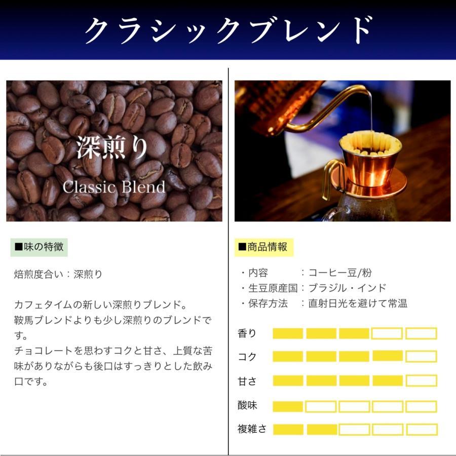 コーヒー豆 コーヒー 珈琲 250g クラシックブレンド 深煎り|kyoto-coffee|02