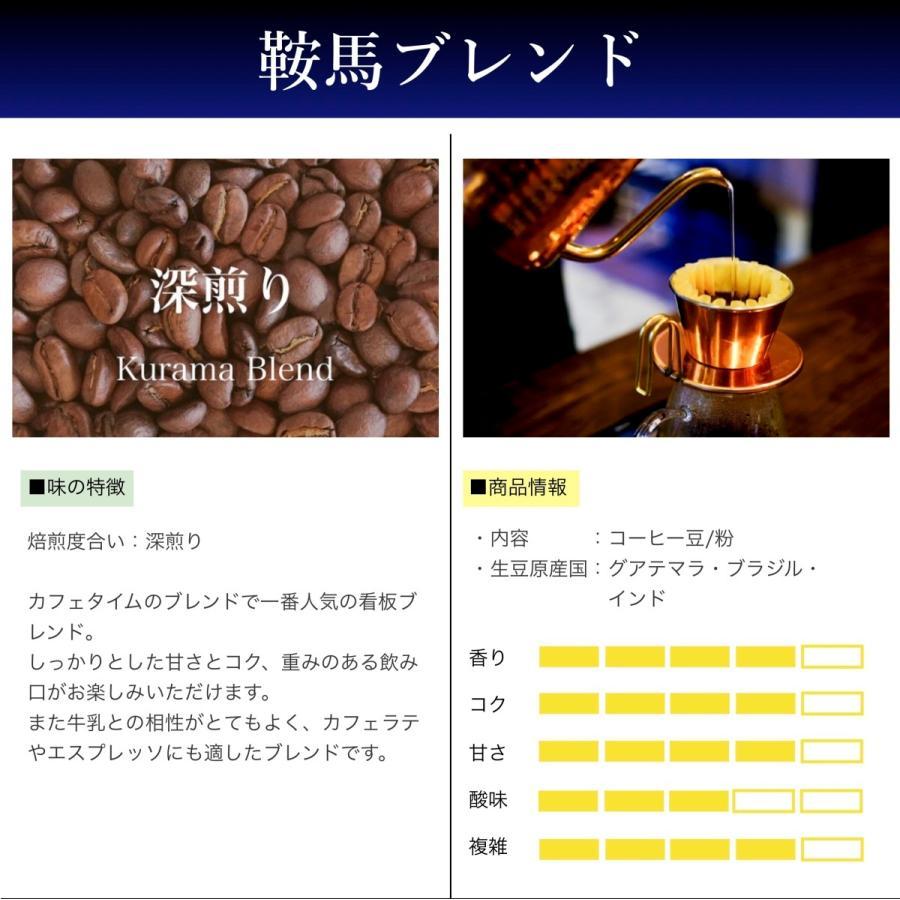 コーヒー豆 コーヒー 珈琲 250g 鞍馬ブレンド 中深煎り|kyoto-coffee|02