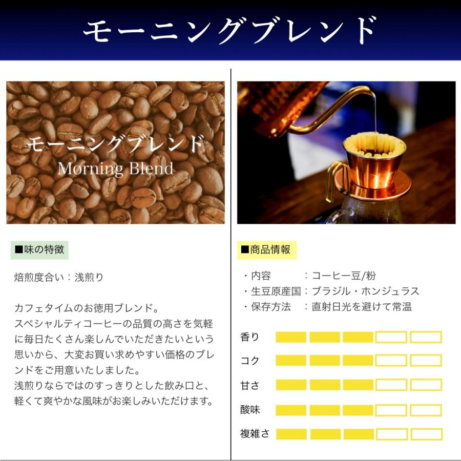コーヒー豆 コーヒー 珈琲 500g モーニングブレンド  浅煎り お徳用|kyoto-coffee|02