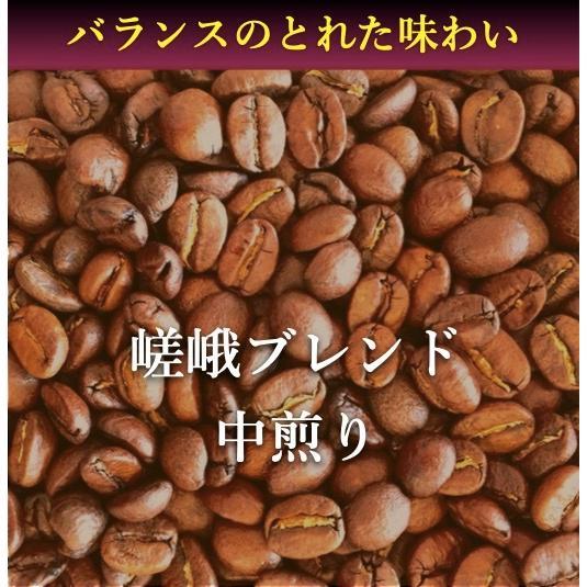 コーヒー豆 コーヒー 珈琲 250g 嵯峨ブレンド 中煎り|kyoto-coffee