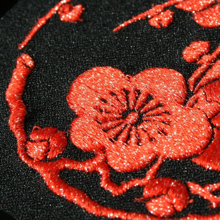 送料無料 インテリア刺繍額 彩-irodori- 植物 日本柄 和柄 刺繍 色糸刺繍 お守りに 還暦祝い/結婚祝い/贈り物/特別な贈り物に|kyoto-sankyo|05