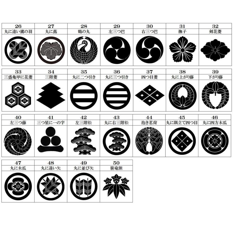 女紋 着物 家紋刺繍 背紋  刺繍紋 一つ紋 三つ紋 五つ紋 マツイ縫い 仕立て上がり着物 プレス加工込み kyoto-sankyo 09