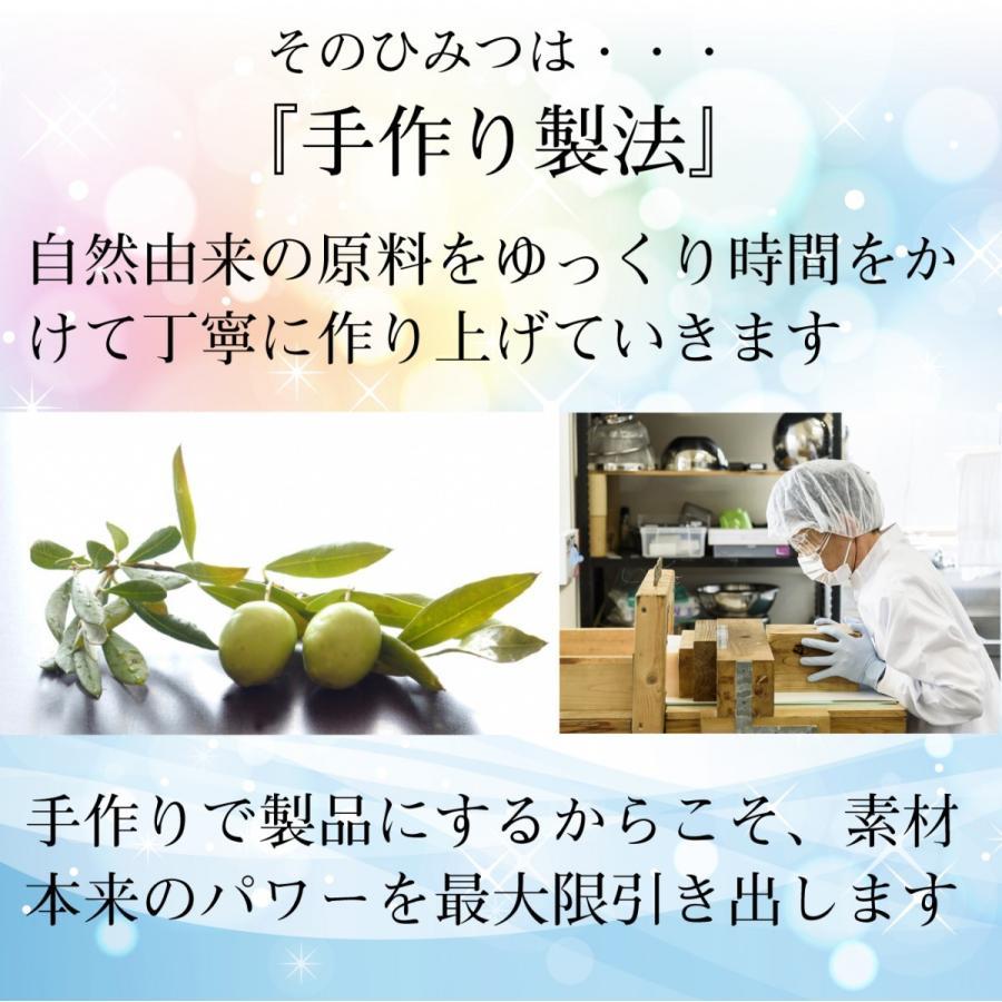オリーブオイルで作った 洗顔石けん ブルウシンプル 無香料 90g  kyoto-savonya 04