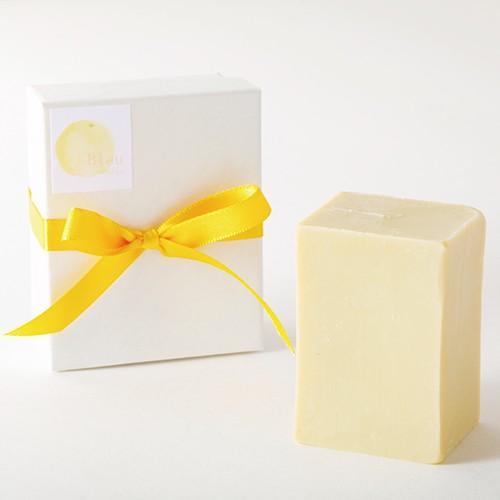 オリーブオイルで作った 洗顔石けん ブルウリラックス スィートシトラス系の香り 90g  kyoto-savonya 05