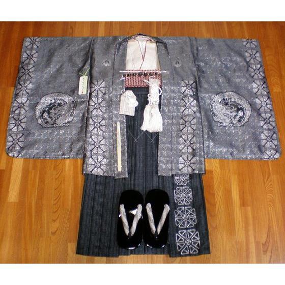 男児·七五三 着物 羽織 袴 小物セットB