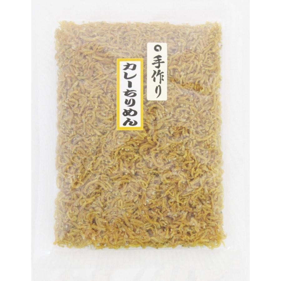 ご飯のお供お取り寄せ商品 京風カレーうどんのお出しをベースにカルシウム豊富なちりめんじゃこと炊き上げ、カレー味に… 当社独自の味 カレーちりめん 50g kyotokatsura 04