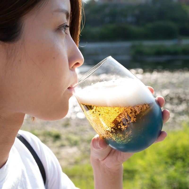 父の日 母の日 うるしのしごと Mutsumi oitate 京漆器 漆グラス ガラス コップ 漆塗り|kyotomarche|04