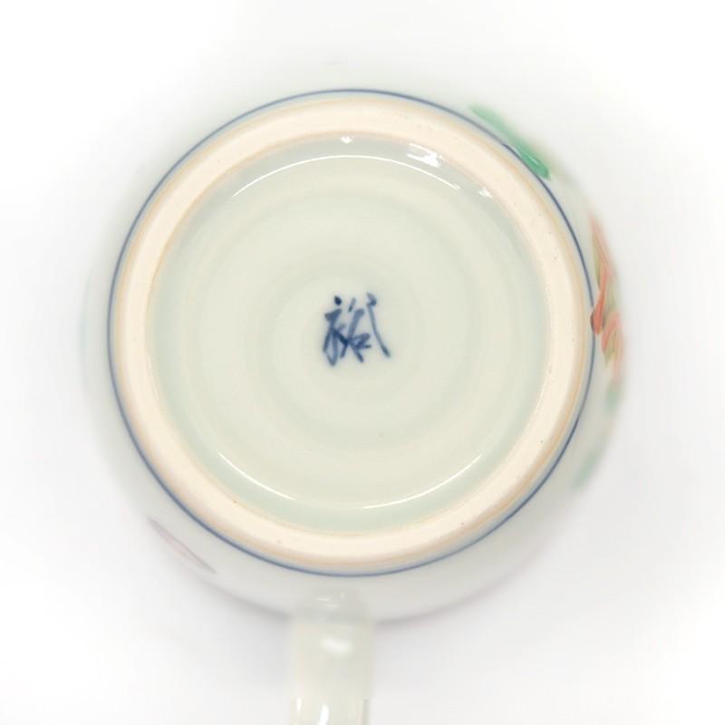 母の日 入学祝い 清水焼 京焼 マグカップ 和風 一珍風神マグカップ 陶器 和食器 kyotomarche 04