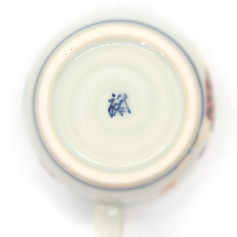 母の日 入学祝い 清水焼 京焼 マグカップ 和風 一珍雷神マグカップ 陶器 和食器|kyotomarche|04