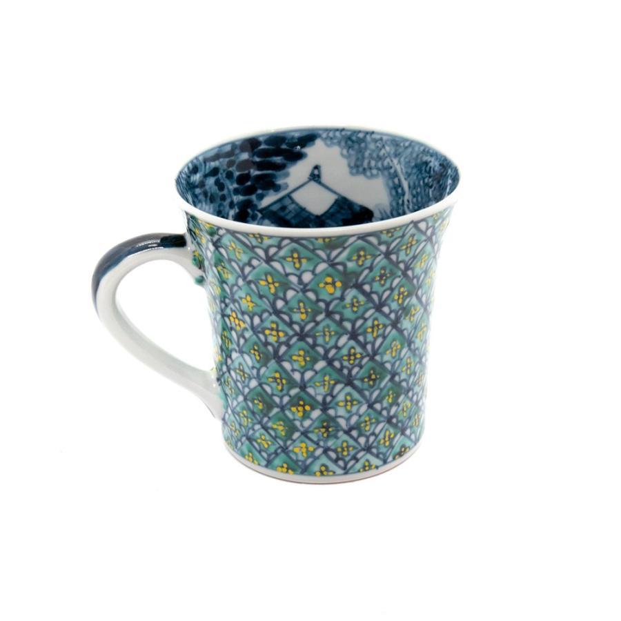 ホワイトデー 卒業祝い マグカップ 六斎窯 おしゃれ 器 和食器 陶器 手作り 清水焼 京焼 kyotomarche