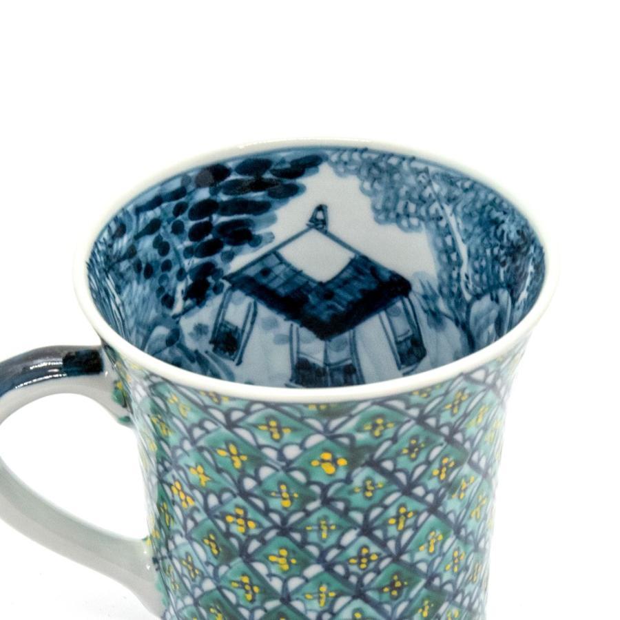 ホワイトデー 卒業祝い マグカップ 六斎窯 おしゃれ 器 和食器 陶器 手作り 清水焼 京焼 kyotomarche 02