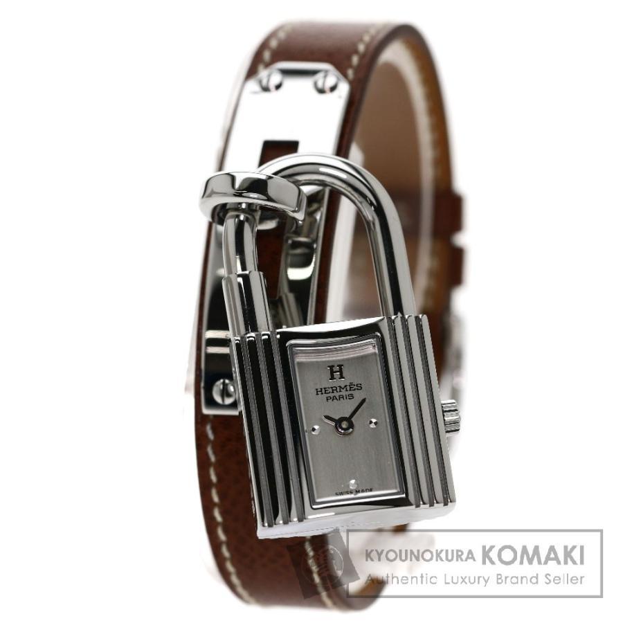 素晴らしい価格 エルメス KE1.210 ケリーウォッチ 腕時計 ステンレス 革 レディース, 藤岡市 2d67f982