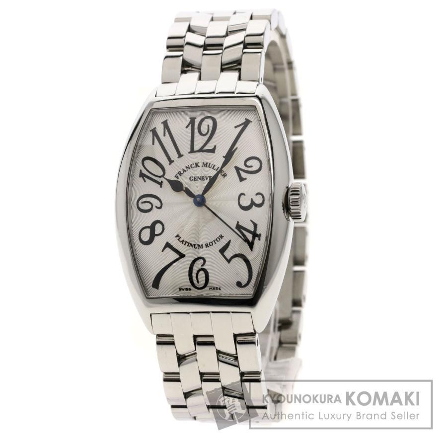 絶妙なデザイン フランクミュラー 腕時計 5850SC 5850SC トノウカーベックス 腕時計 メンズ ステンレススチール メンズ, 菓匠 華月:3b19a392 --- airmodconsu.dominiotemporario.com