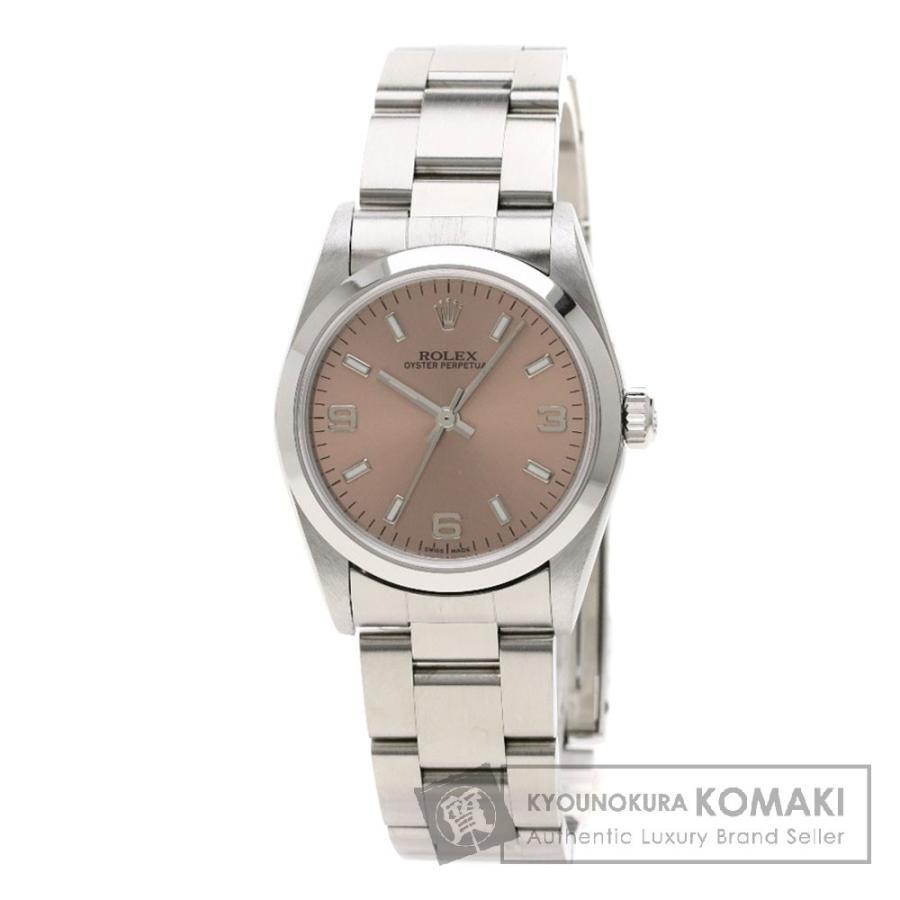 109a66b42f ロレックス 77080 オイスターパーペチュアル 腕時計 ステンレススチール ボーイズ 中古