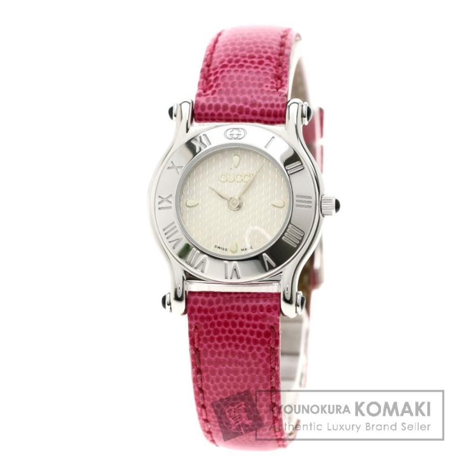正式的 グッチ 革 6500L グッチ 腕時計 ステンレススチール 革 レディース レディース, マクロビオティック シードリーフ:98762ff2 --- airmodconsu.dominiotemporario.com