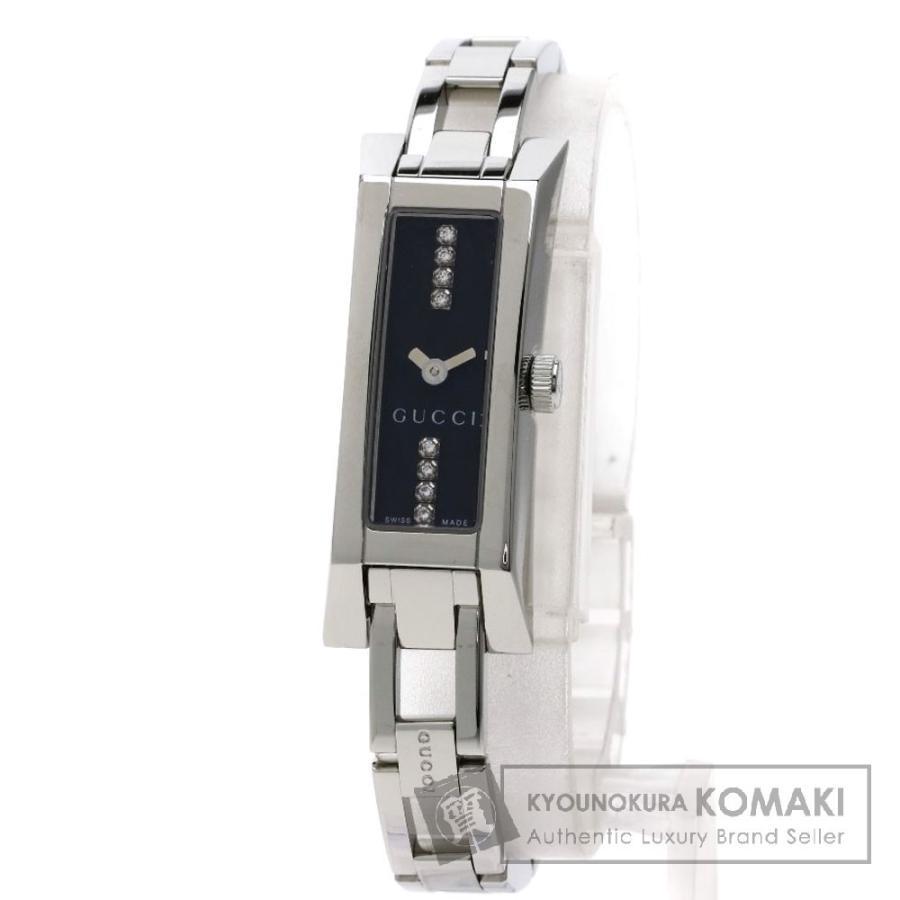 買得 グッチ 腕時計 1110L 1110L 8Pダイヤモンド 腕時計 レディース ステンレススチール レディース, YAMAGOいもの花:0058bbcb --- airmodconsu.dominiotemporario.com