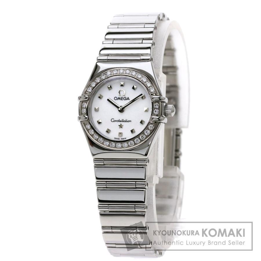 【全商品オープニング価格 特別価格】 オメガ 1465.71 コンステレーション ダイヤモンド 腕時計 ステンレススチール SS レディース, MARIAGE 6f8f468c