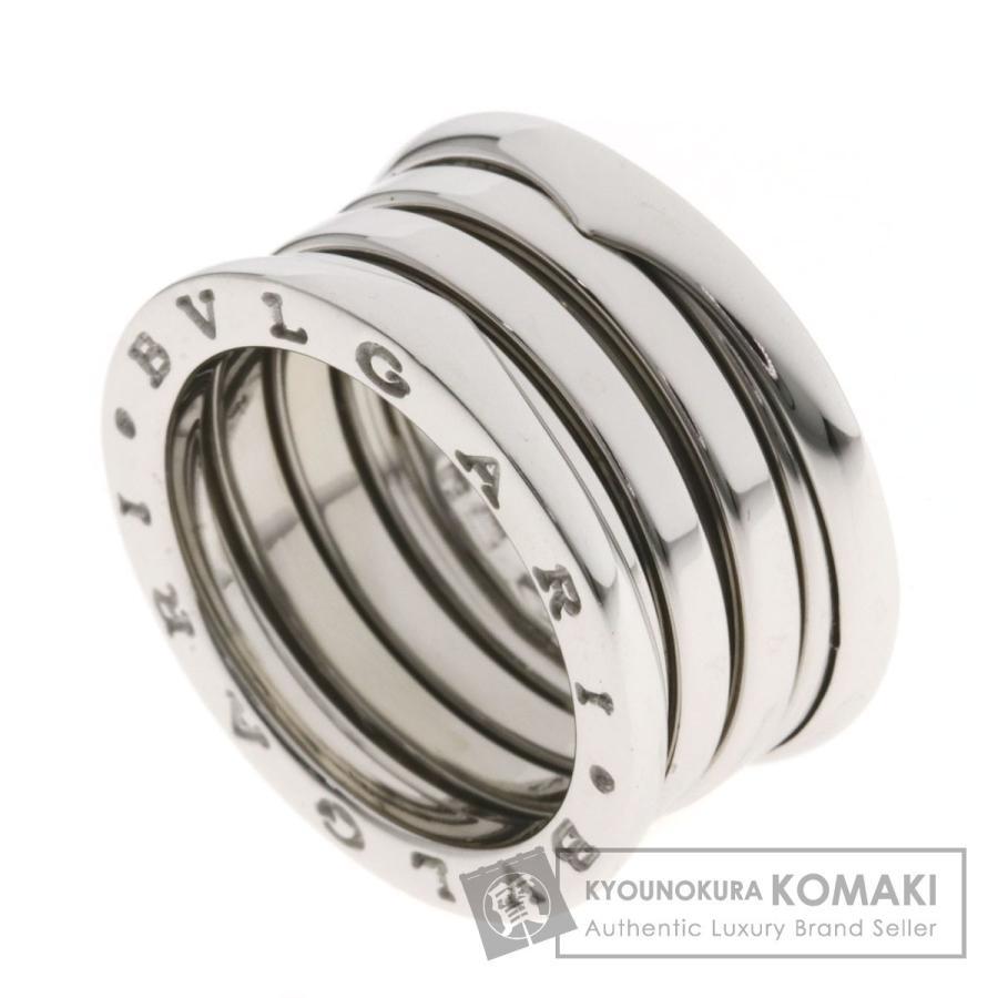 100%品質 BVLGARI BVLGARI ブルガリ B-zero1 ビーゼロワン M M #50 リング #50・指輪K18ホワイトゴールド レディース, 新星堂WonderGOO:1fe385c0 --- airmodconsu.dominiotemporario.com