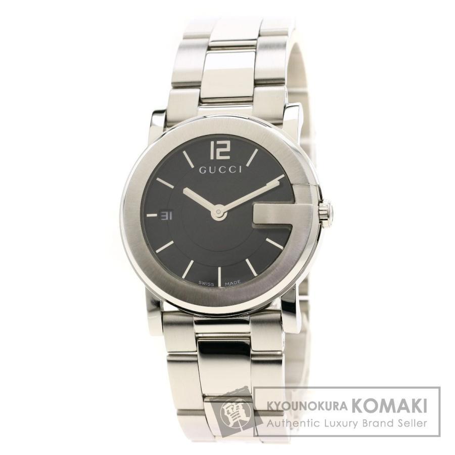 おすすめ GUCCI 腕時計 グッチ Gラウンド 101J Gラウンド グッチ 腕時計 ステンレススチール/SS ボーイズ, BrownFloor clothing:619777d1 --- airmodconsu.dominiotemporario.com