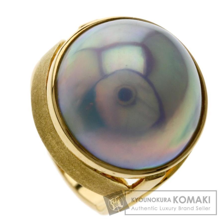 65%OFF【送料無料】 TASAKI タサキ マベパール 真珠 リング・指輪K18イエローゴールド レディース, EXTREME 898762eb