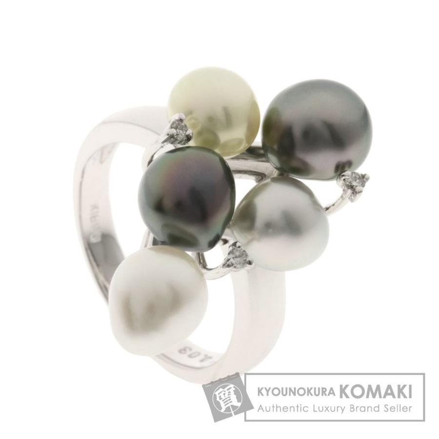 新しいエルメス ジュエリー パール パール 真珠 ダイヤモンド ダイヤモンド リング・指輪 ジュエリー K18ホワイトゴールド, チクシグン:25ac2442 --- airmodconsu.dominiotemporario.com