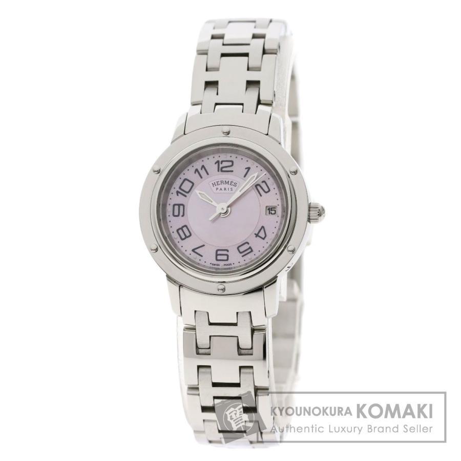 人気が高い HERMES 腕時計 エルメス CP1.210 レディース クリッパーナクレ 腕時計 ステンレススチール SS SS レディース, ウタツチョウ:c1d954f3 --- airmodconsu.dominiotemporario.com