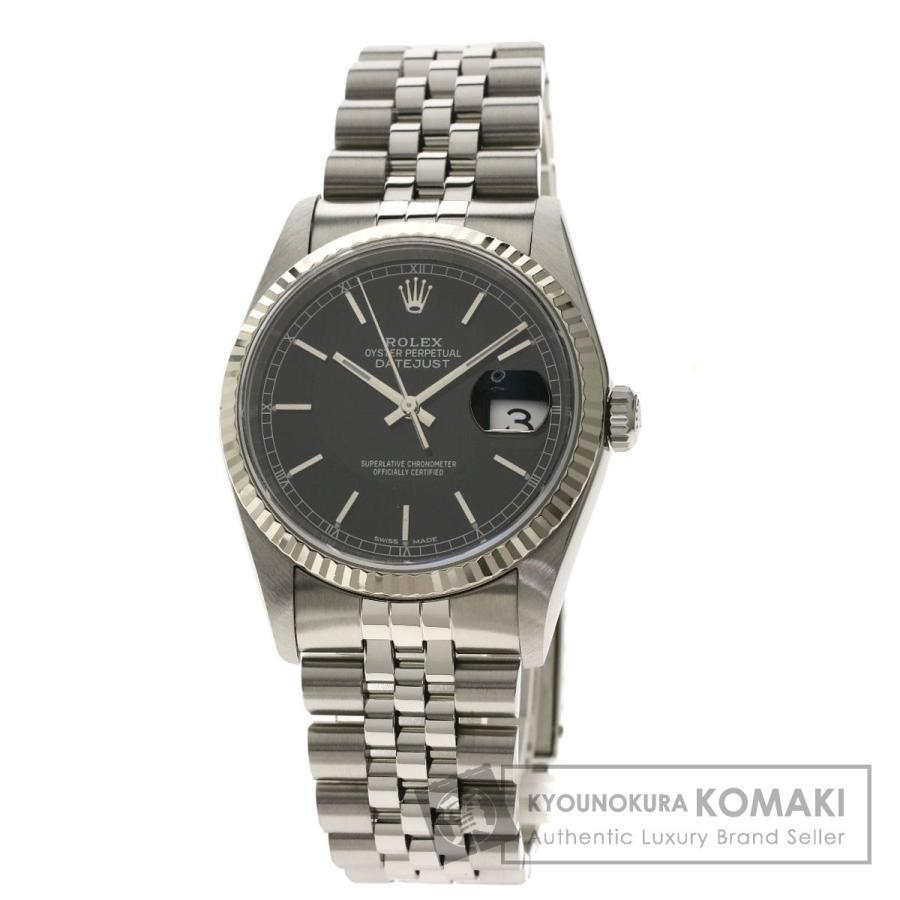 第一ネット ROLEX ロレックス ロレックス 16234 メンズ デイトジャスト 腕時計 16234 ステンレススチール/SS/K18WG メンズ, 家具インテリア雑貨 ビカーサ:02418d0c --- airmodconsu.dominiotemporario.com