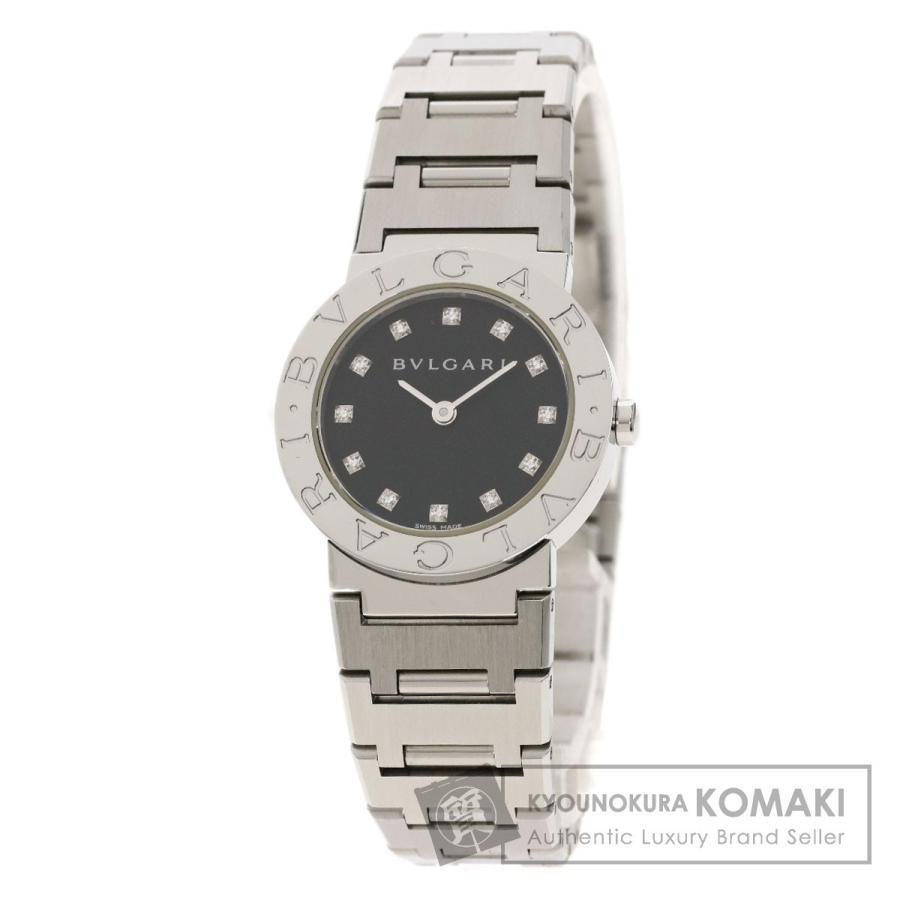 【オープニング大セール】 BVLGARI ブルガリ BB26SS ダイヤモンド/12 ブルガリブルガリ 12P BB26SS/12 ダイヤモンド 腕時計 腕時計 ステンレススチール SS レディース, ウイズユー:5aba0986 --- airmodconsu.dominiotemporario.com